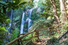 Mok Fa Waterfall Is Tourist At...