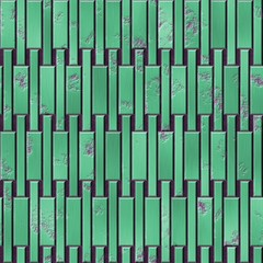 Green seamless metal plate texture