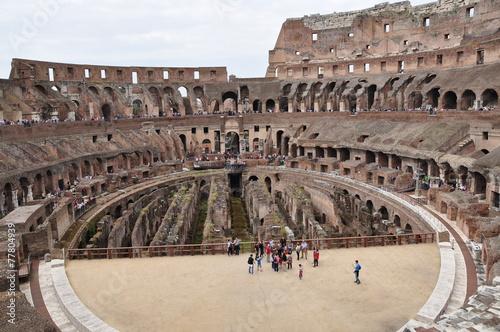 Colisé Rome Tableau sur Toile