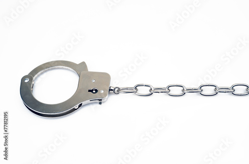 Photo  Handcuff on Chain