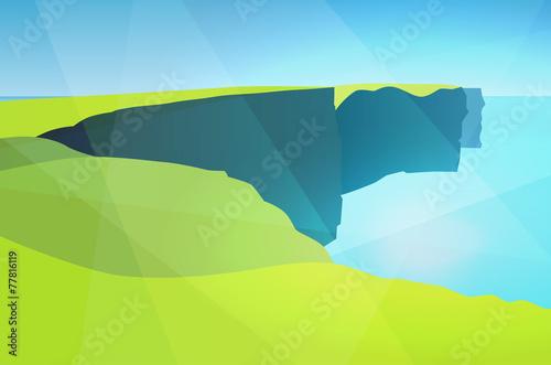 Fotobehang Lichtblauw Cliffs of Moher