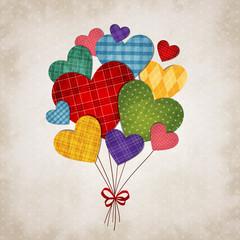 Obraz na PlexiRomantic heart