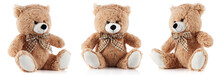 Toy Teddy Bear Isolated On Whi...