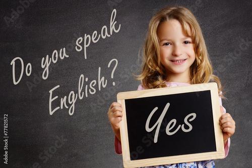Fotografie, Obraz  Do you speak English?