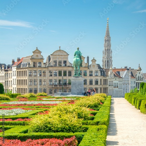 Papiers peints Jardin Bruxelles, Brussels, Belgium, Belgique
