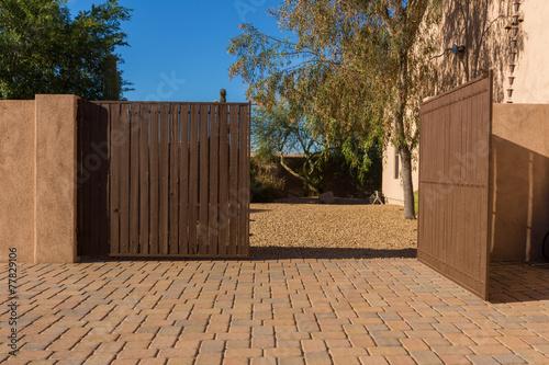 Fotografie, Obraz  Driveway Gate