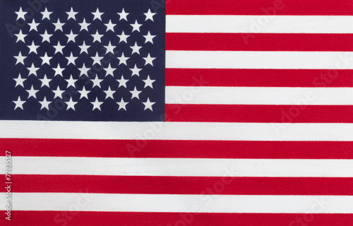Photo  Flag of United States of America