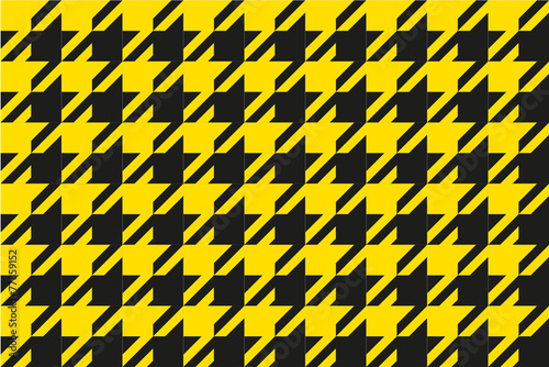 pattern black and yellow, pattern vecter, background vector Canvas-taulu