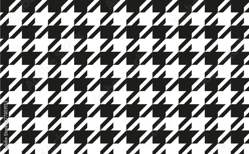 pattern black and white, pattern vecter, background vector Canvas Print