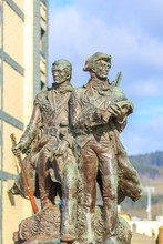 Lewis And Clark Statue In Seas...