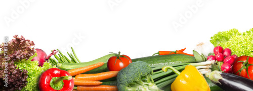 Aluminium Prints Fresh vegetables Vegetables