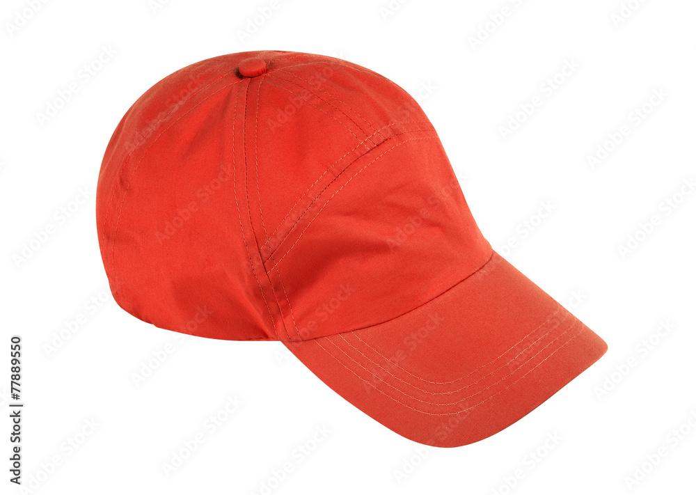 Baseball-Mütze auf weißem Hintergrund w / Beschneidungspfad Foto ...
