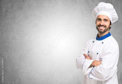 Fotografie, Obraz  Portrait of a smiling chef