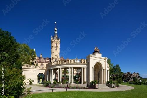 Keuken foto achterwand Buenos Aires Schloss Schwerin