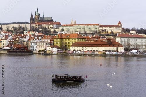 Fotografie, Obraz  View of Prague Castle