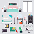 Bedroom. Furniture and Accessories