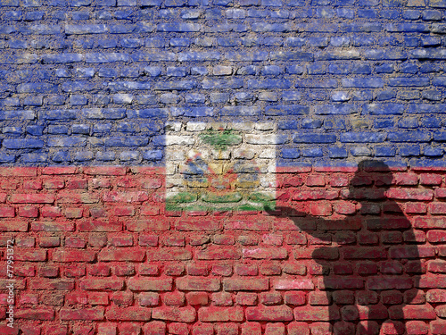Haiti poverty Wallpaper Mural