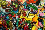 Fototapeta Młodzieżowe - graffiti art urbain