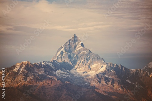 instagram filter Himalaya mountains Poster