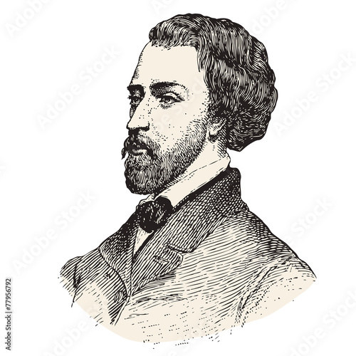Alfred de Musset - Buy this stock vector and explore similar