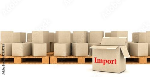 Fotografia, Obraz  Import