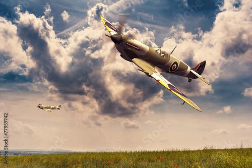 Supermarine Spitfire Slika na platnu