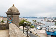 Guard Tower In Ferrol, Galicia...