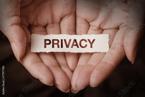 Tablou Canvas Privacy