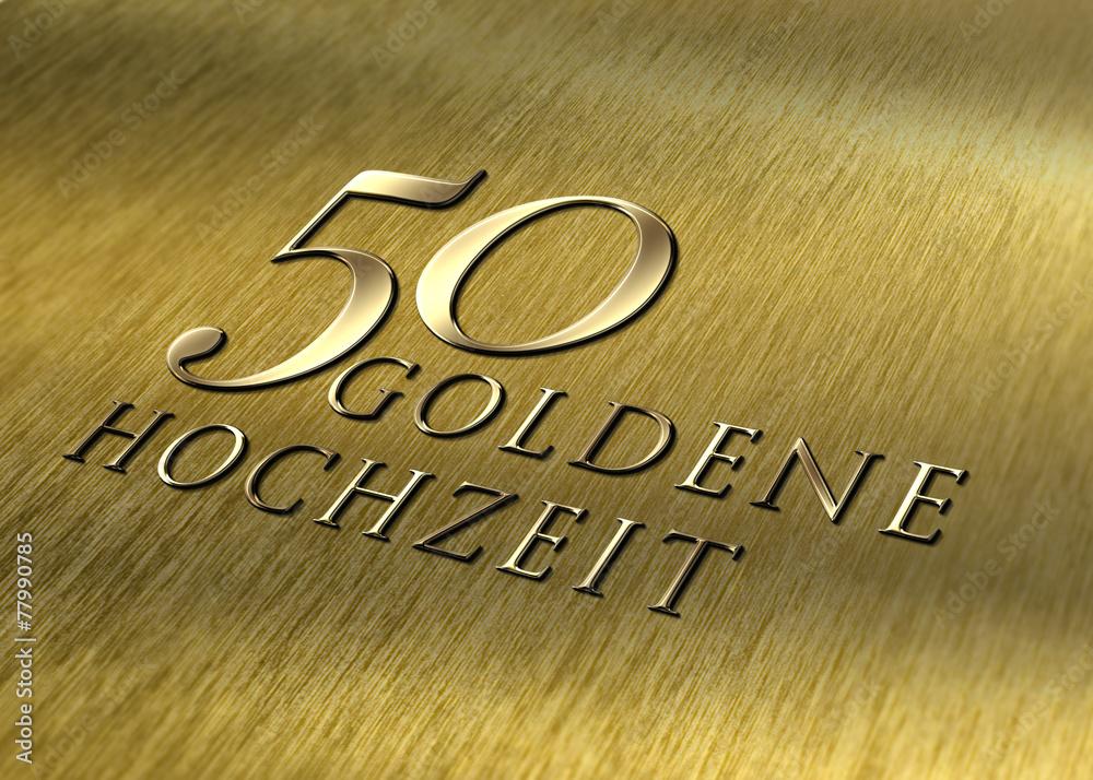 Fotografía 50 Goldene Hochzeit Struktur Europosterses