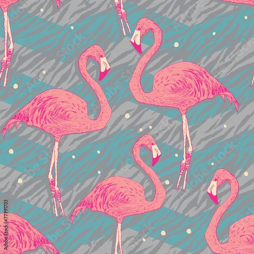 bezszwowy-wzor-z-flamingo-ptakami
