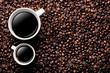 Hintergrund Kaffee Tassen