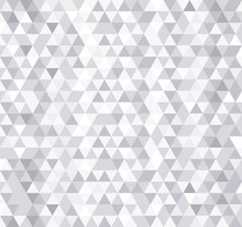 White Triangle Tiles Seamless ...