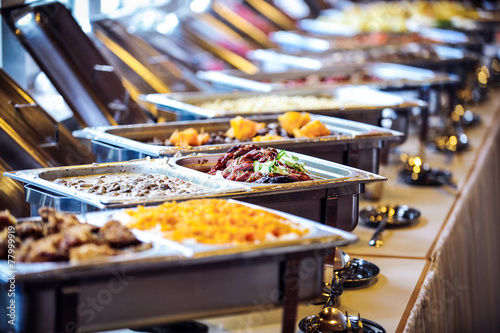 Papiers peints Buffet, Bar buffett tisch