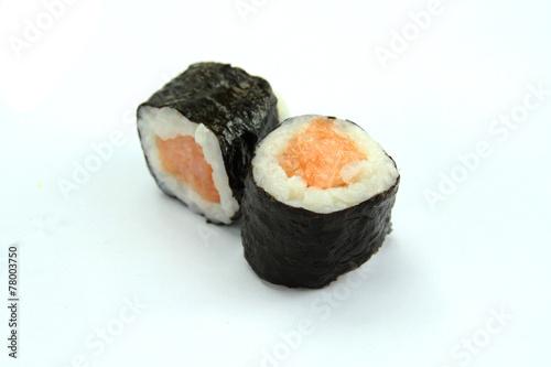Printed kitchen splashbacks Sushi bar sushis