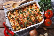 Mexican Enchilada In A Baking ...