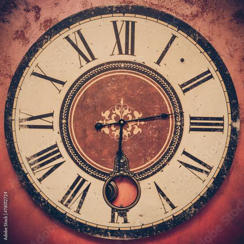Fotografie, Obraz  Scorrere del tempo e brevità della vita