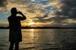Boipeba - Coucher de Soleil - photo souvenir