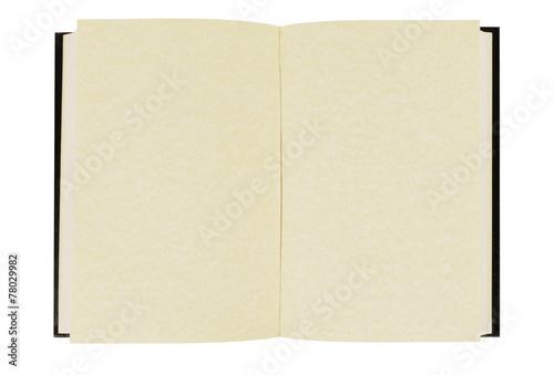 Plain hardback book Fototapet