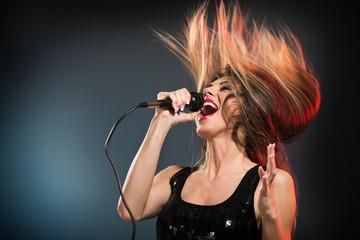 Fototapeta Cute Rock Star