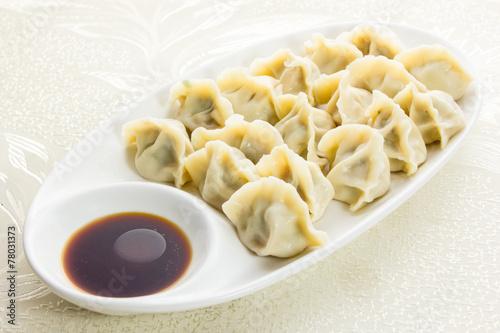 Vászonkép Dumplings