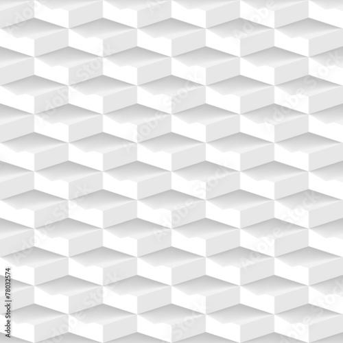 bialy-3d-geometryczny-wzor