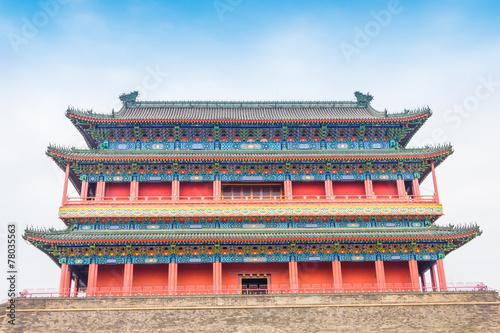 Foto op Aluminium Beijing Beijing Drum Tower