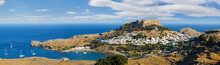 Panorama Of The Lindos Acropol...