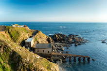 Lizard Point In Cornwall