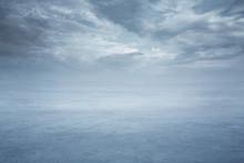 Empty Frozen Lake