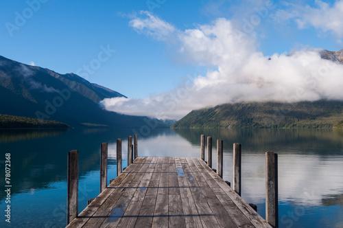 Poster Nouvelle Zélande Nelson Lakes National Park New Zealand