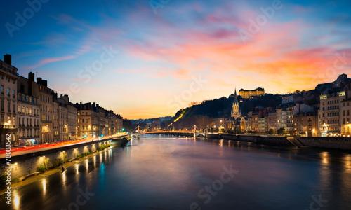 City on the water Les quais de Saône LYON