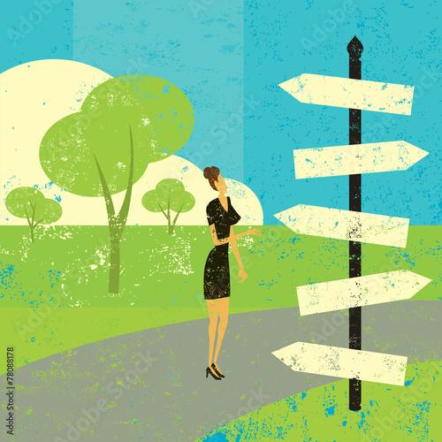 Photo  Choosing a destination