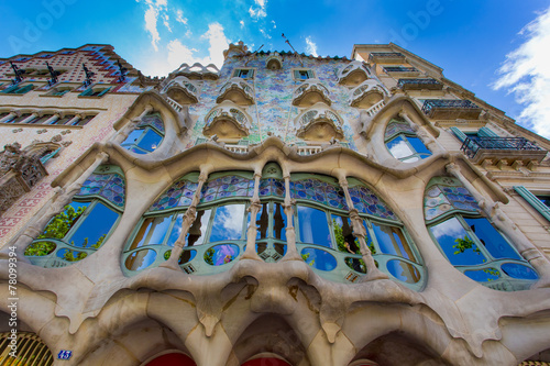 Tela Casa Battlò from below