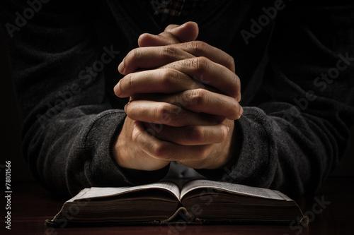 Fotografie, Obraz  Modlí